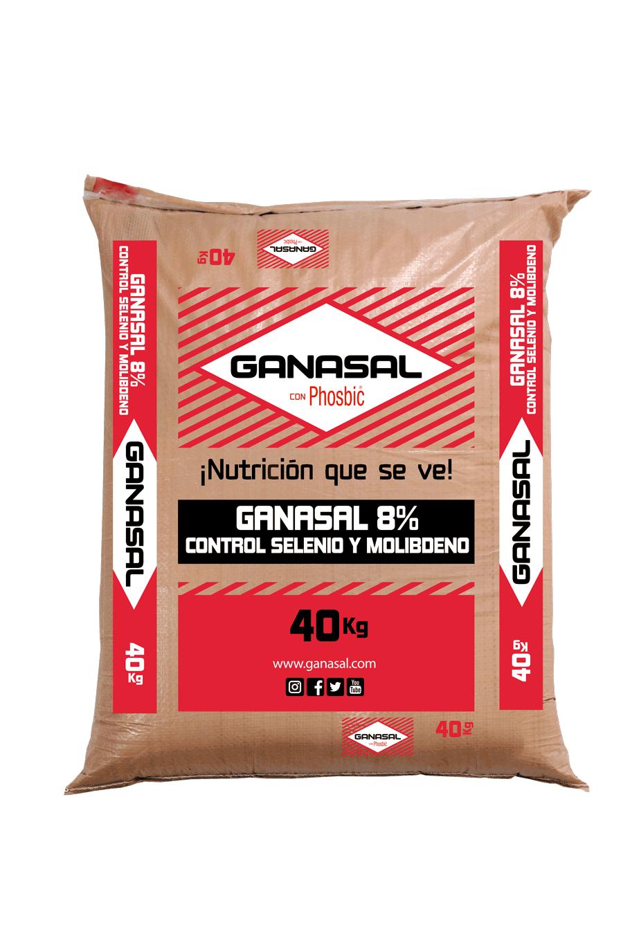 Ganasal 8% Control Selenio - Molibdeno
